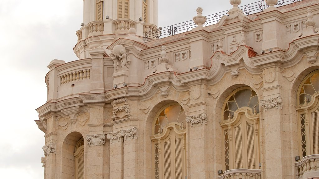 Great Theatre of Havana featuring heritage elements