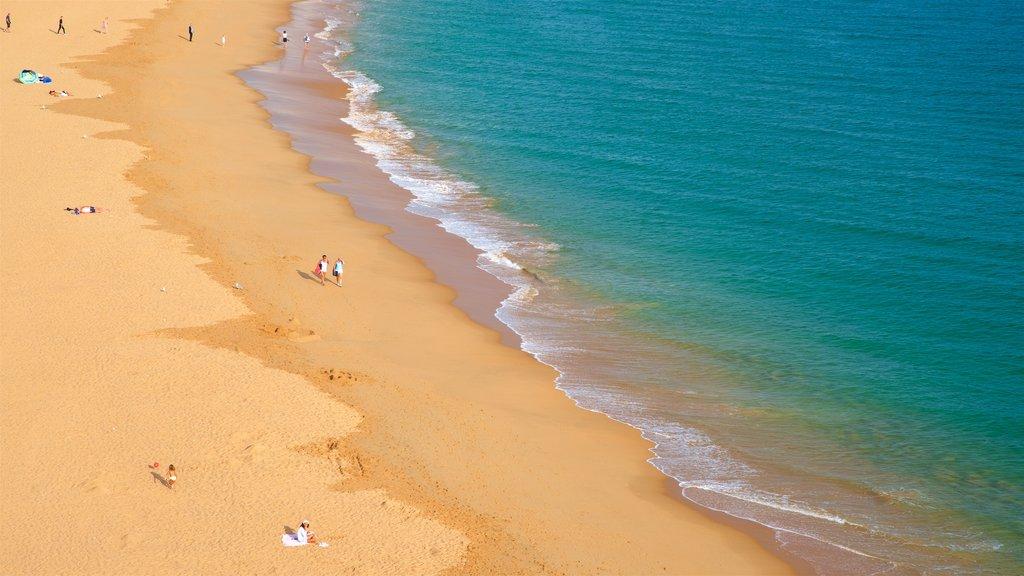 Fisherman\'s Beach featuring a sandy beach and general coastal views