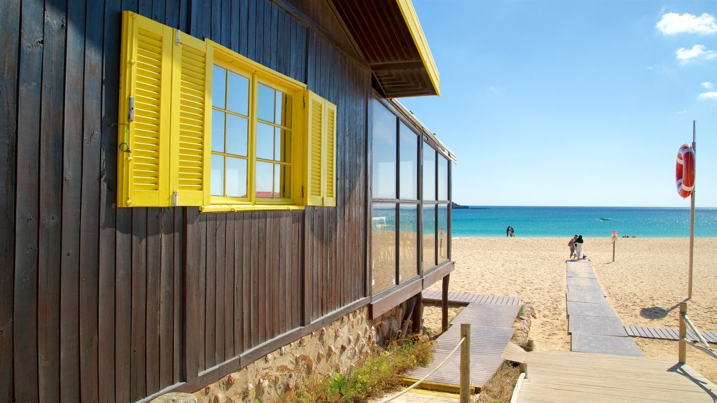 Martinhal Beach which includes general coastal views and a beach