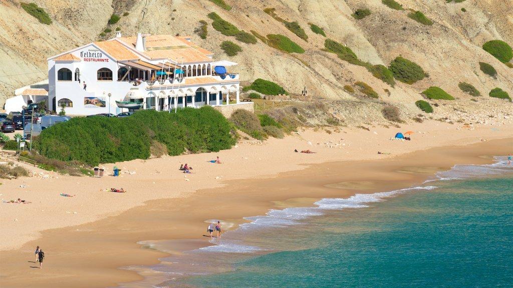 Mareta Beach featuring general coastal views and a beach