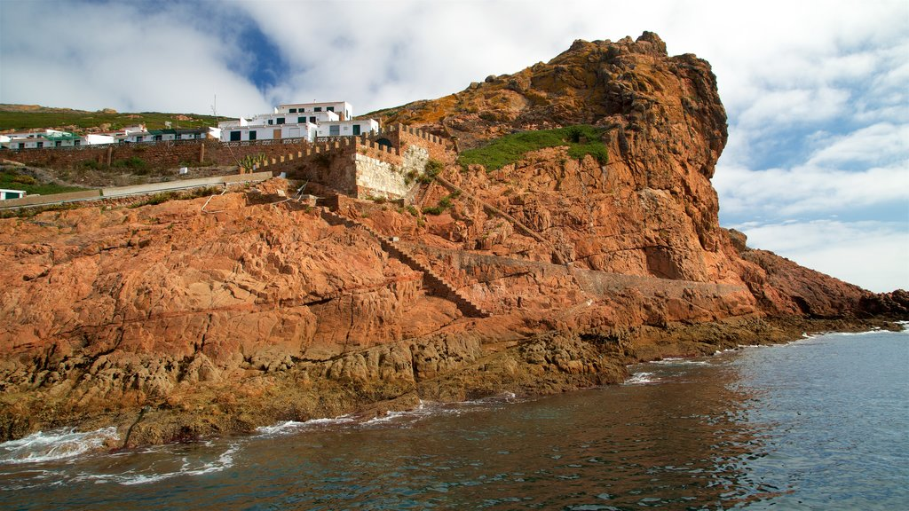 Berlenga Island which includes rugged coastline and general coastal views