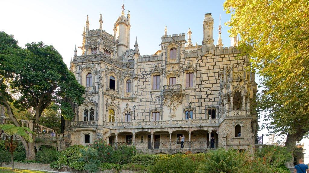 Quinta da Regaleira showing heritage architecture