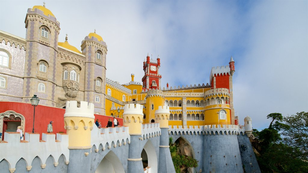 Pena Palace featuring chateau or palace and heritage elements