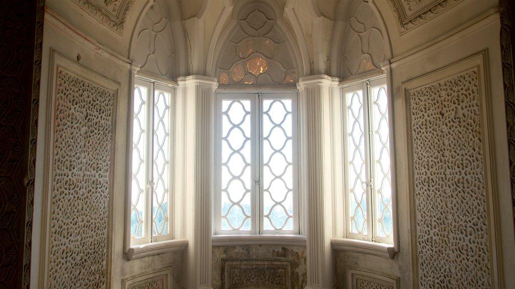 Pena Palace featuring interior views