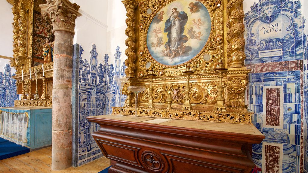Misericordia Church featuring interior views, religious aspects and art