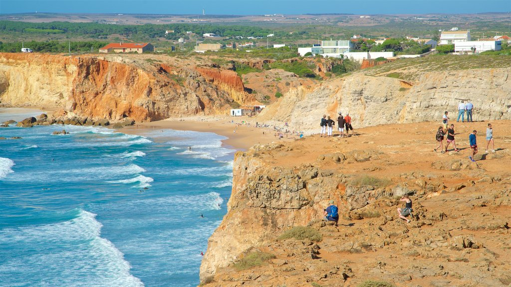 Sagres Fortress showing tranquil scenes, general coastal views and rugged coastline