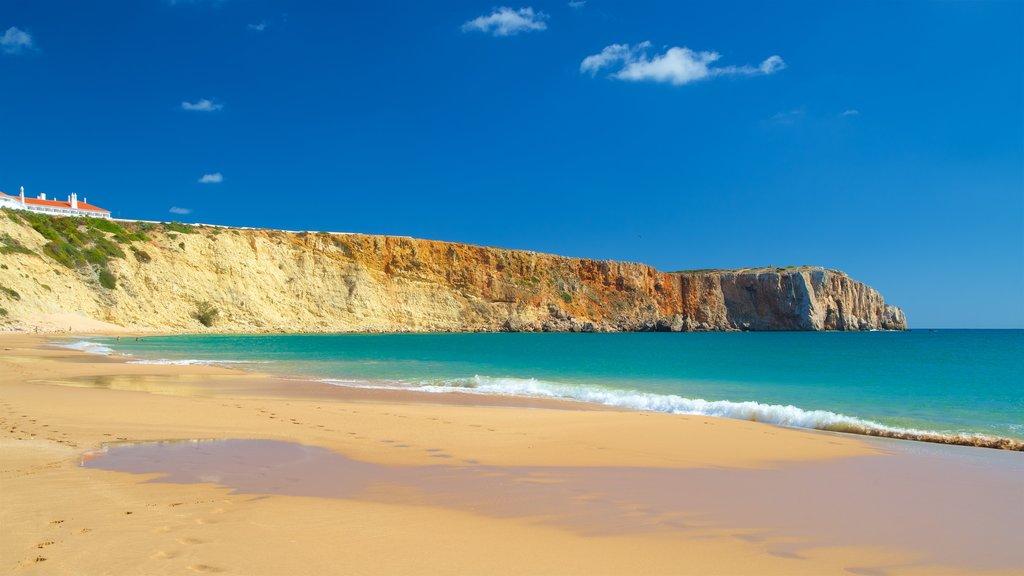 Mareta Beach which includes general coastal views, a sandy beach and rocky coastline