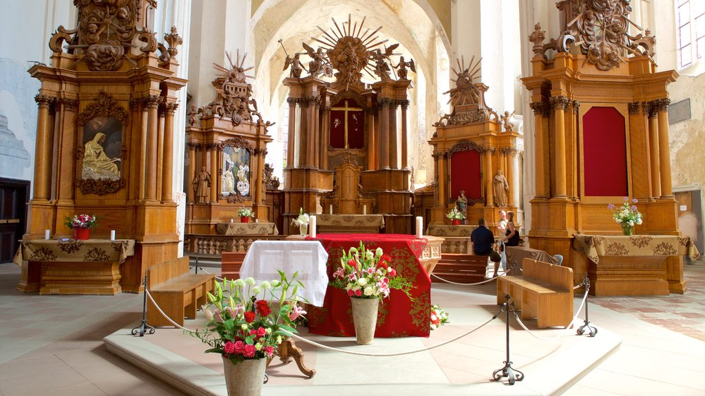 St. Anne\'s Church featuring religious elements, flowers and heritage elements