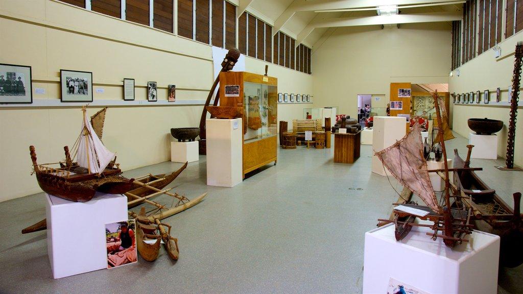 Rarotonga ofreciendo vistas interiores