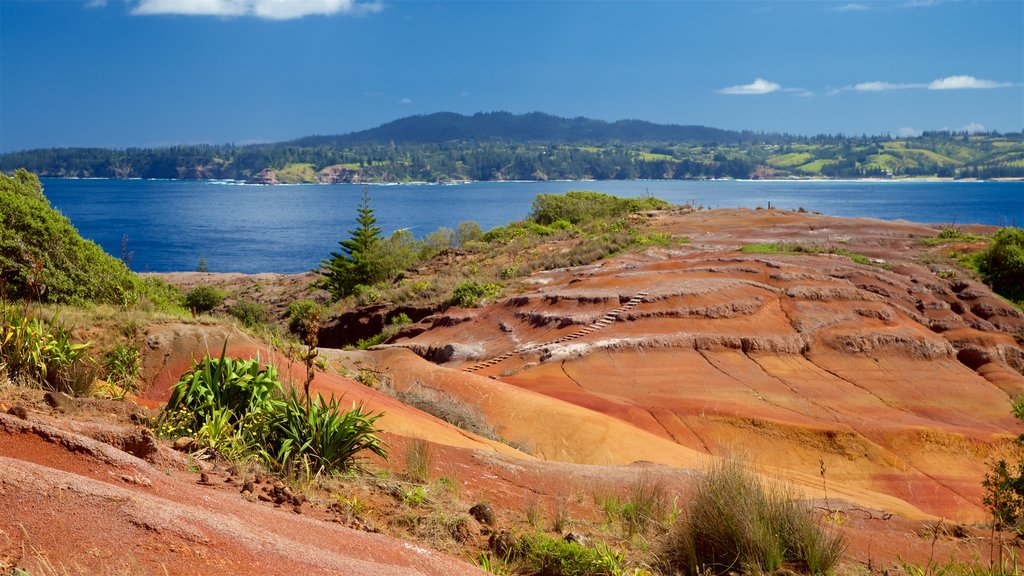 Norfolk Island which includes tranquil scenes and general coastal views