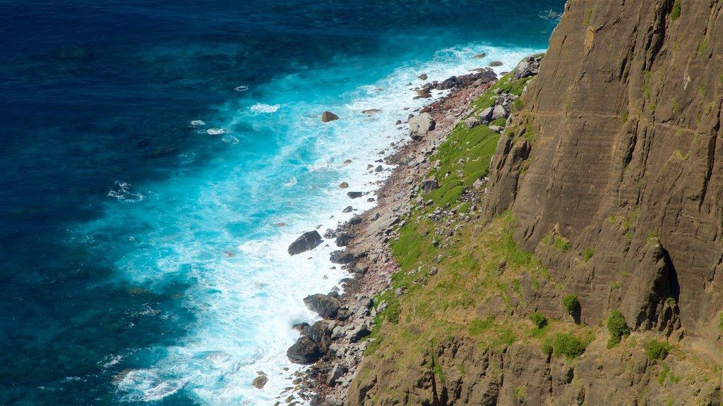 Norfolk Island featuring general coastal views and rocky coastline