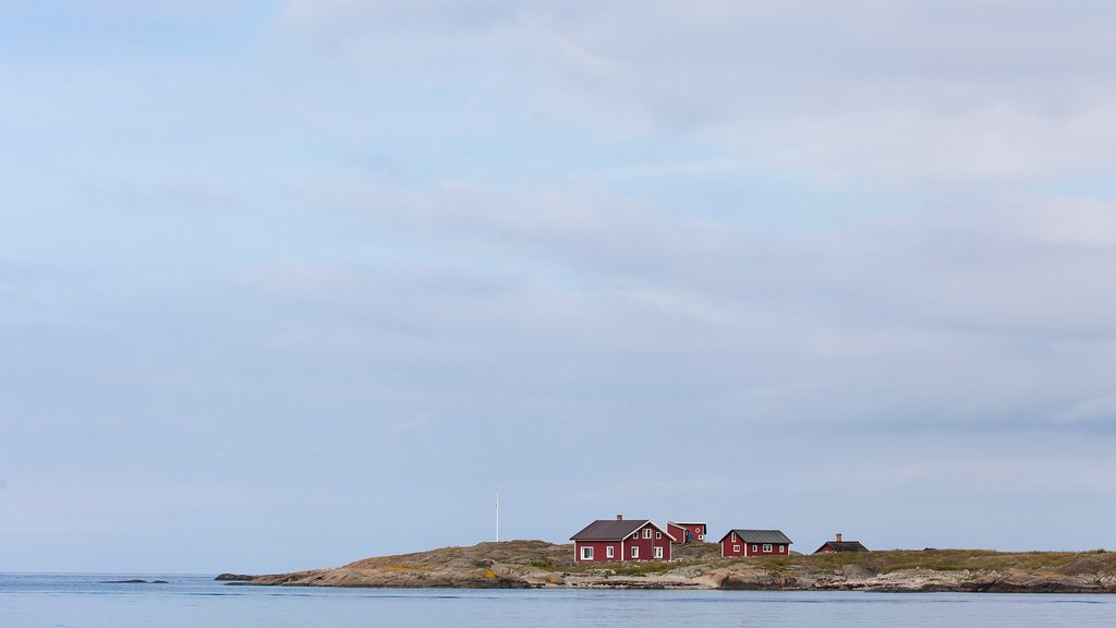 Varberg featuring general coastal views