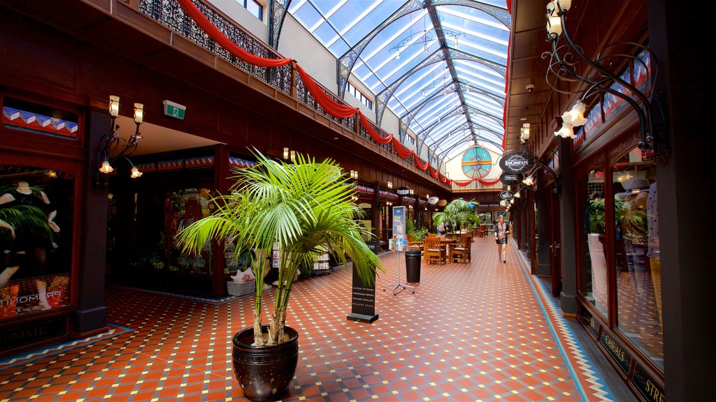 Christchurch featuring interior views and shopping