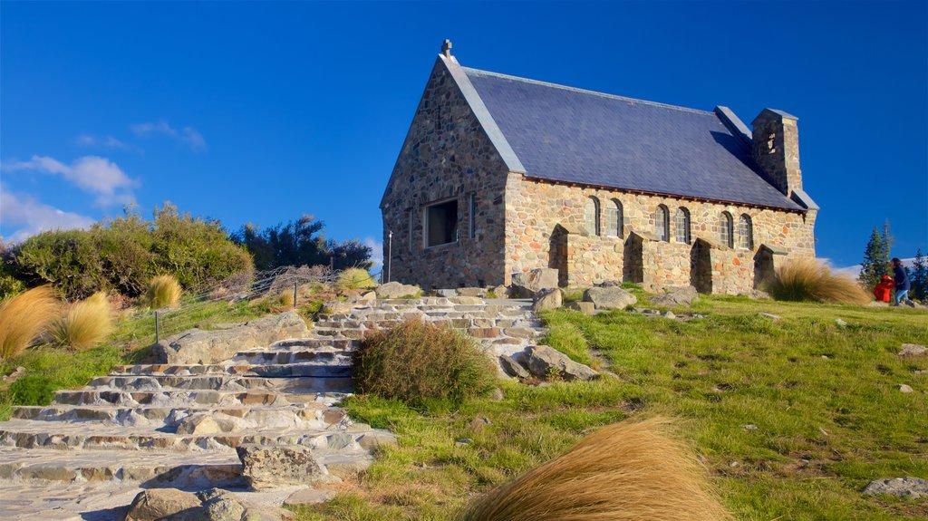 Church of the Good Shepherd mostrando una iglesia o catedral y elementos del patrimonio