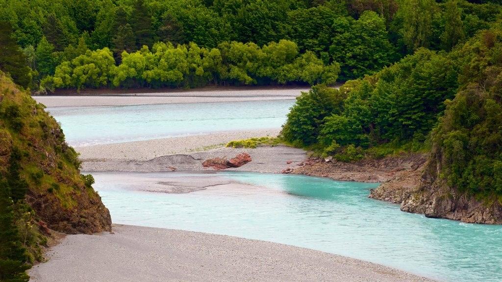Rakaia Gorge mostrando un río o arroyo