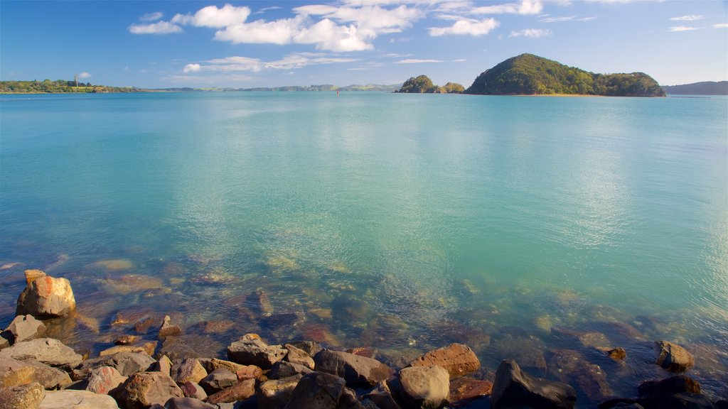 Paihia which includes a lake or waterhole