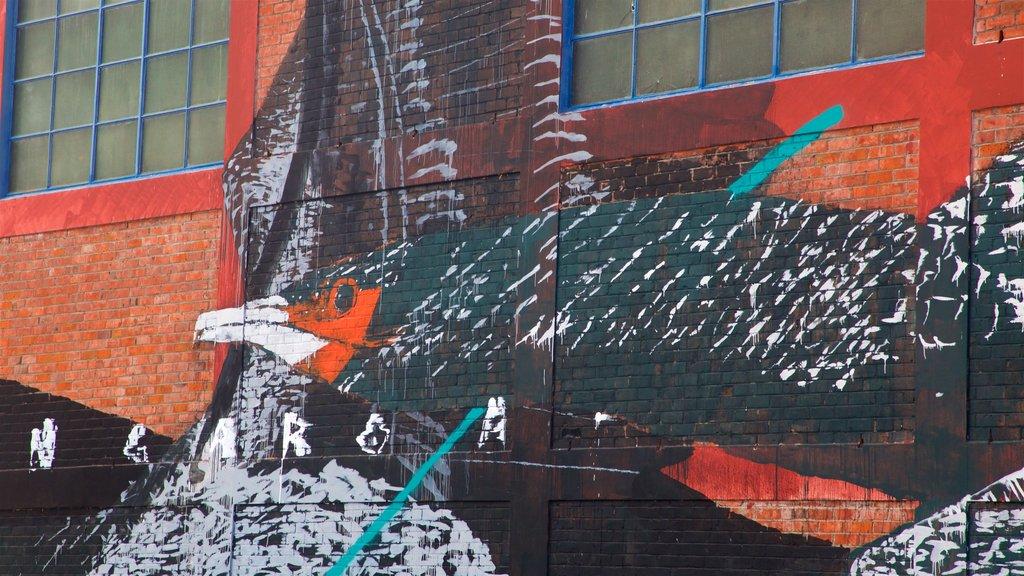 Hawke\'s Bay ofreciendo arte al aire libre