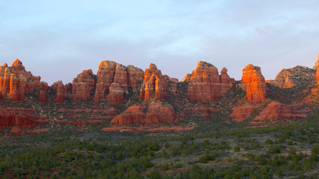 Sedona featuring landscape views, a gorge or canyon and tranquil scenes