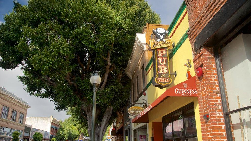San Luis Obispo showing signage