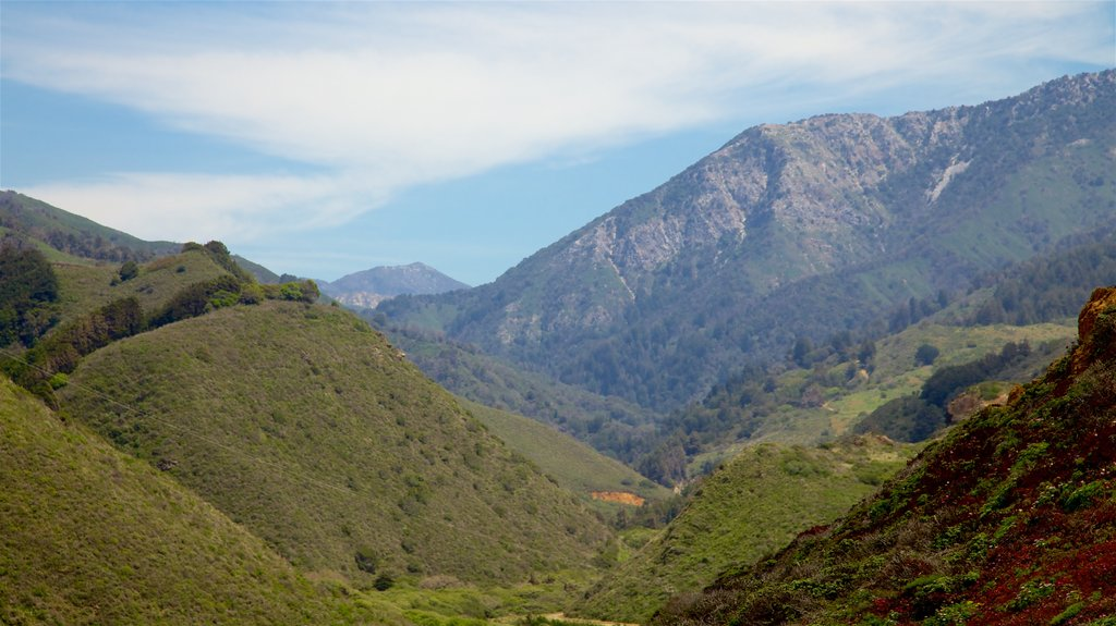 Big Sur featuring mountains, tranquil scenes and landscape views