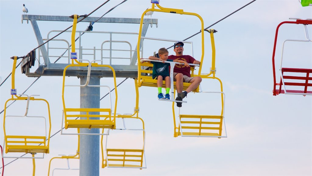 Seaside Heights which includes a gondola as well as a family