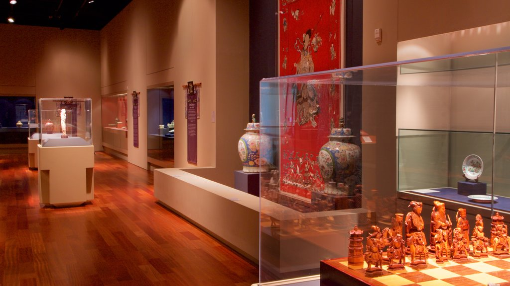 Bowers Museum which includes interior views