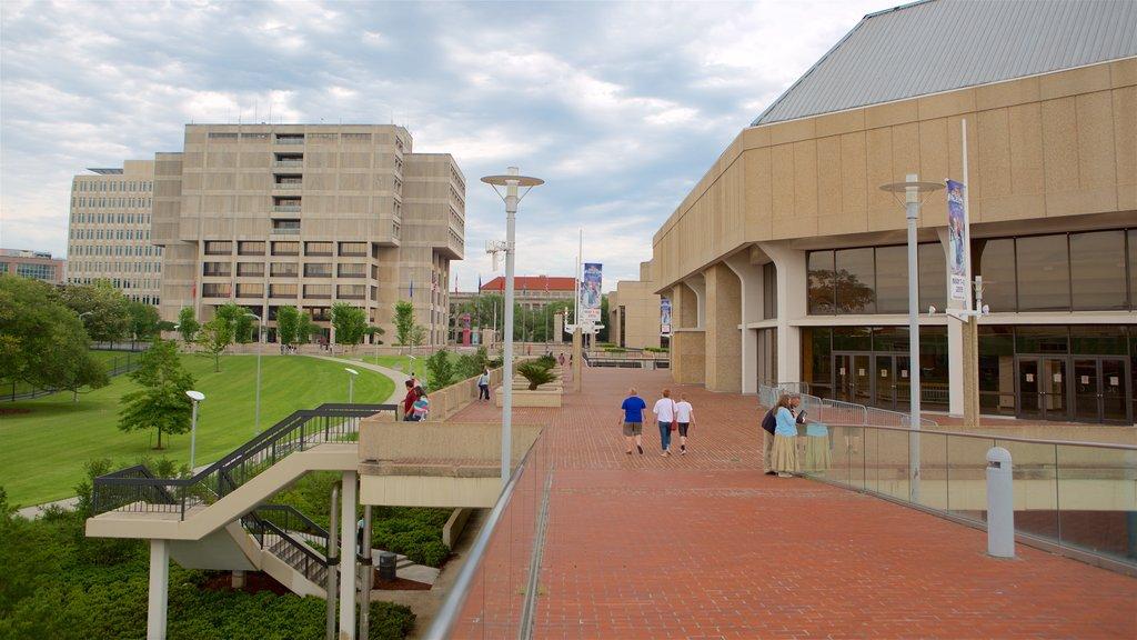 Baton Rouge River Center showing a park