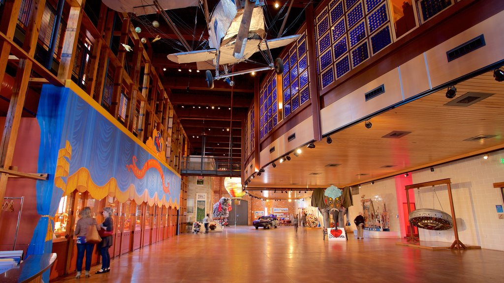 American Visionary Art Museum featuring interior views