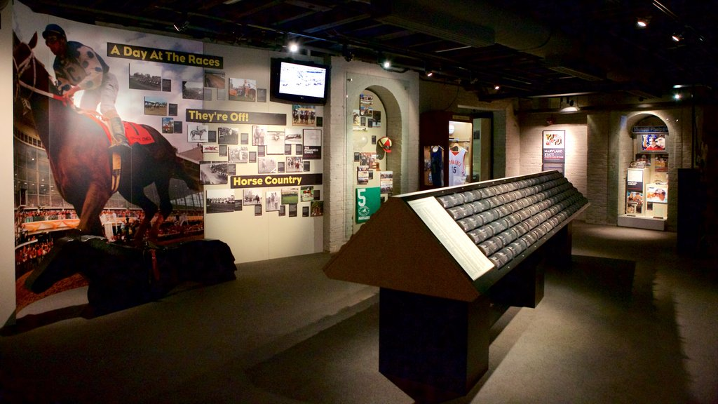 Museo Sports Legends Museum at Camden Yards ofreciendo vistas interiores