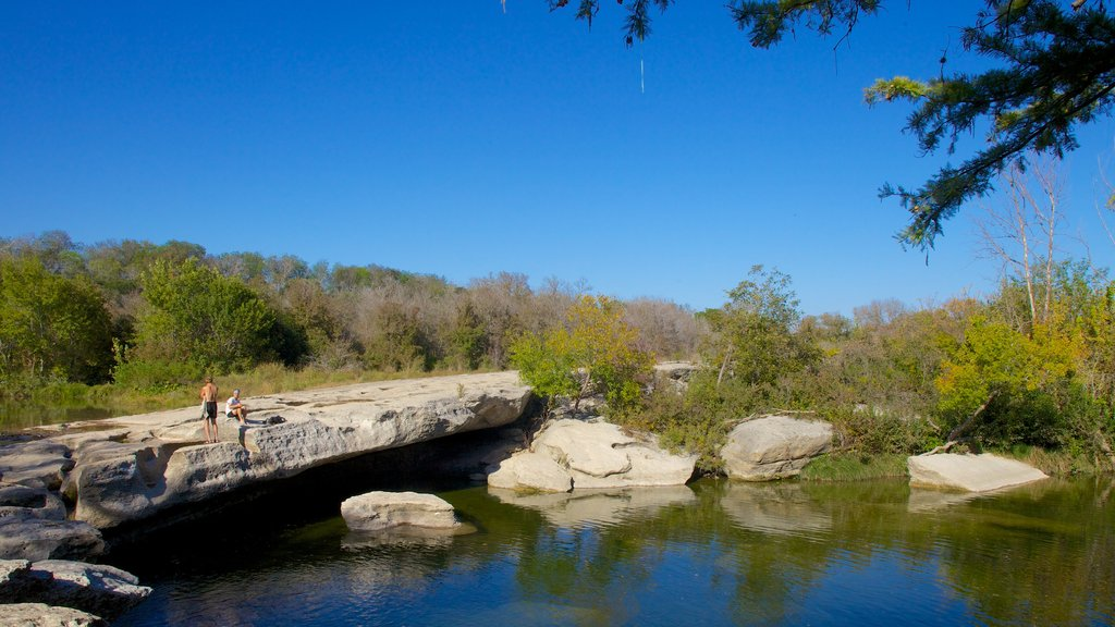 McKinney Falls State Park featuring tranquil scenes and landscape views