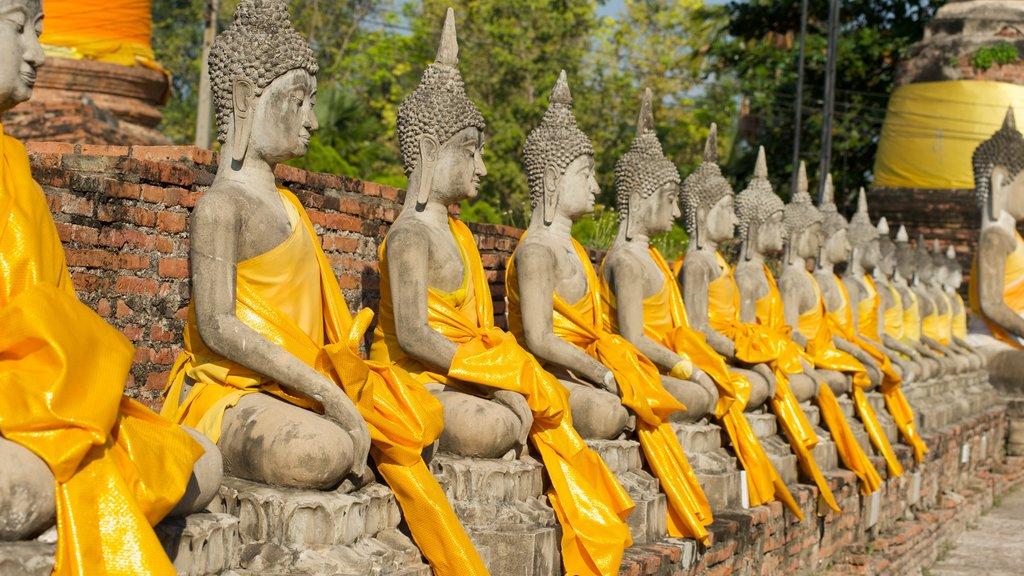 Ayutthaya showing outdoor art