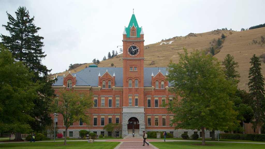 Missoula featuring a park and heritage architecture