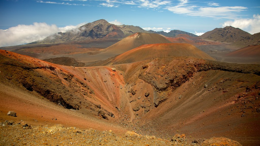 Haleakala National Park featuring landscape views and desert views