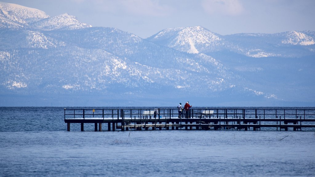 Tahoe City which includes general coastal views and tranquil scenes