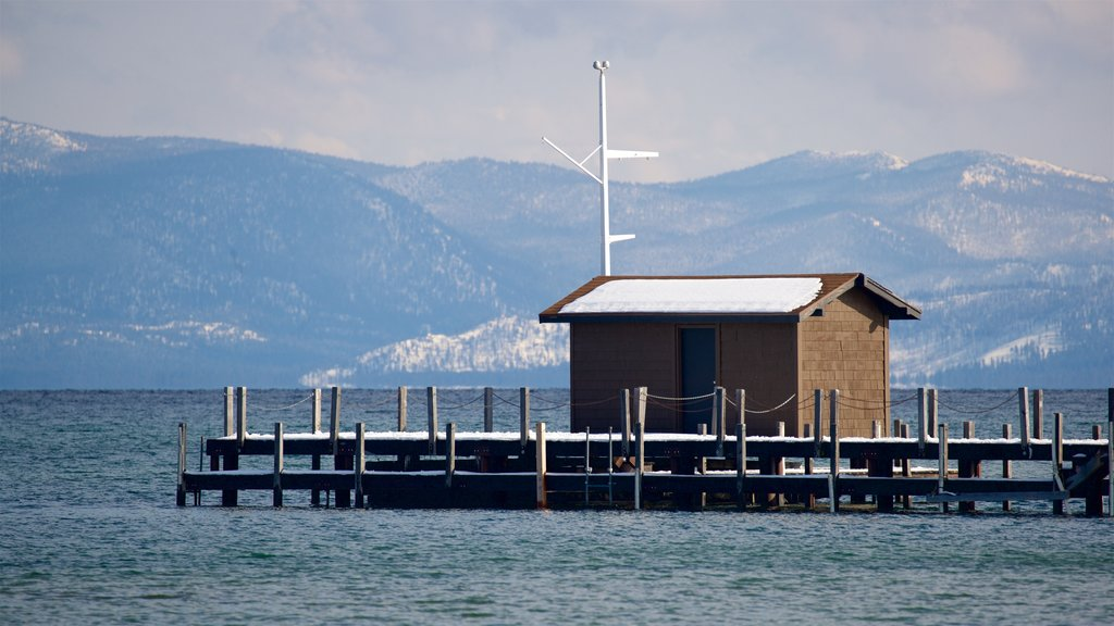 Tahoe City which includes tranquil scenes and a lake or waterhole