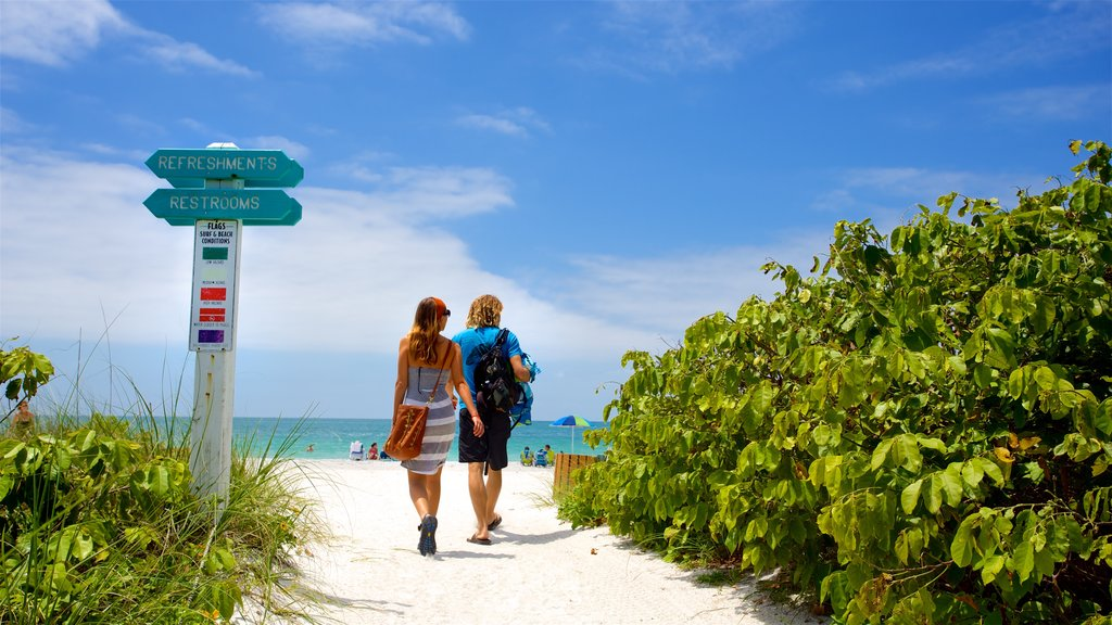 Lido Key featuring general coastal views and a sandy beach as well as a couple