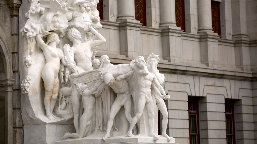 Pennsylvania State Capitol featuring a statue or sculpture