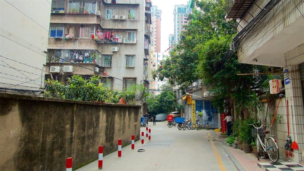 Tianhe mostrando una ciudad