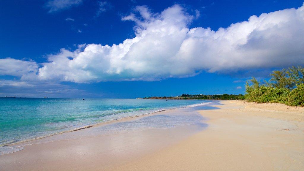 Fort Bay Beach showing general coastal views and a sandy beach