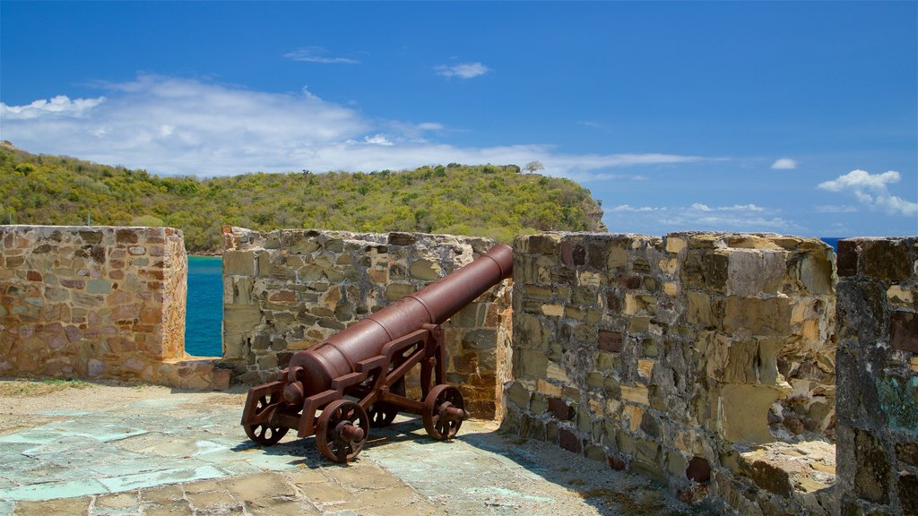 Fort Berkeley featuring heritage elements, military items and views