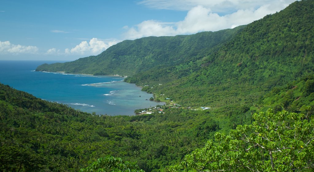 Samoa featuring general coastal views, landscape views and tranquil scenes