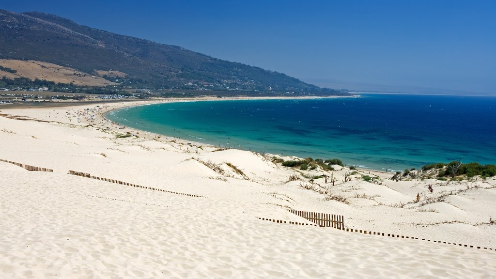 Tarifa featuring a sandy beach and general coastal views