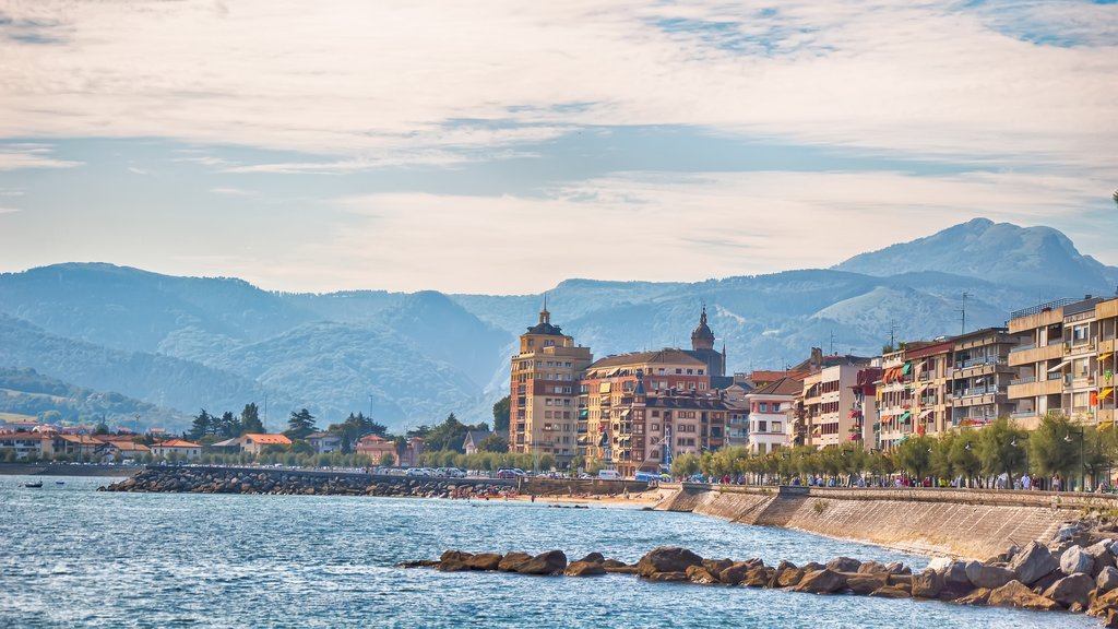 Hondarribia which includes general coastal views
