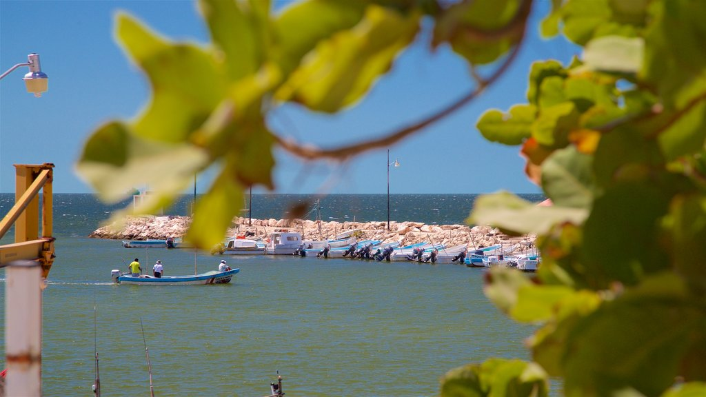 Lerma which includes general coastal views and a bay or harbor