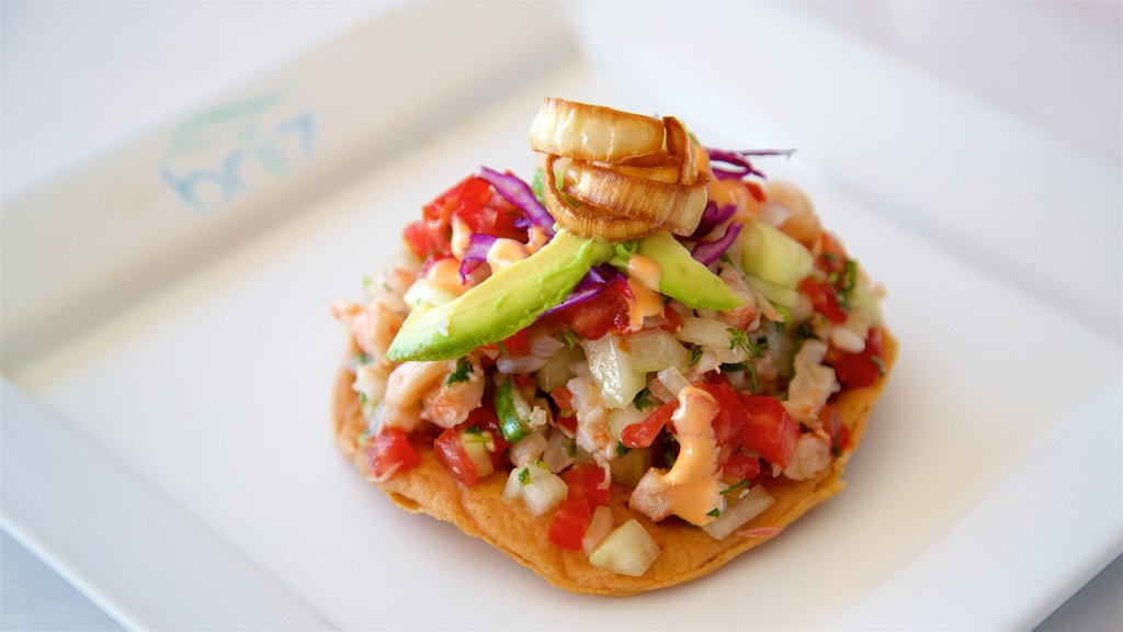 Campeche showing food