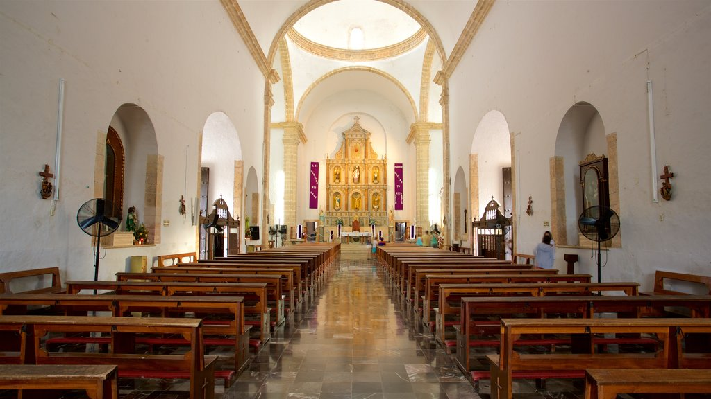 Cathedral of San Gervasio showing interior views, a church or cathedral and heritage elements