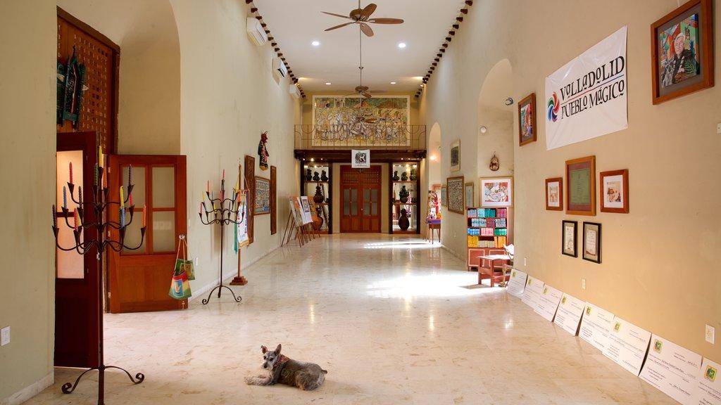 Casa de los Venados showing interior views