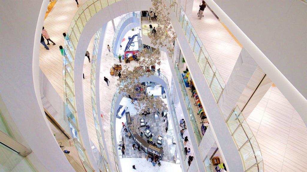 Shinsegae Centum City featuring interior views