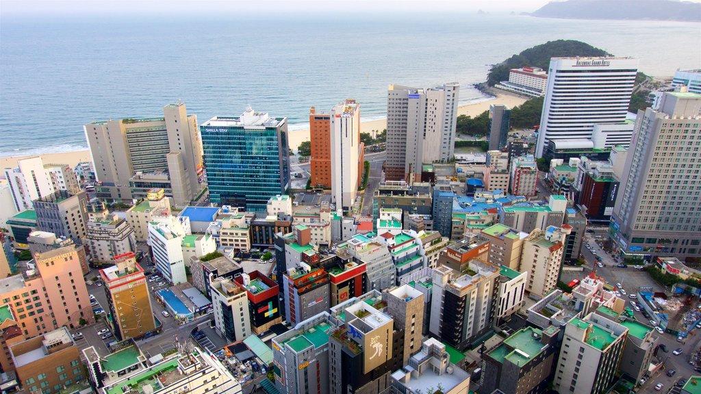 Haeundae featuring landscape views, a city and general coastal views