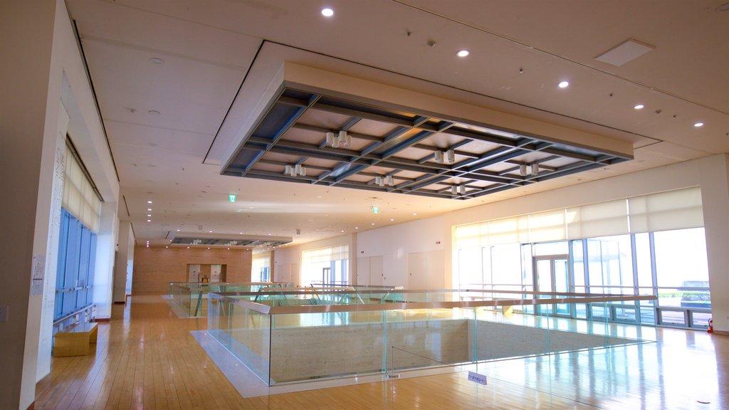 Busan Museum of Art showing interior views